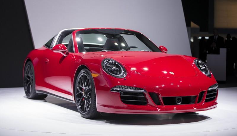 圖為保時捷911 Targa系列跑車。示意圖。(法新社檔案照)