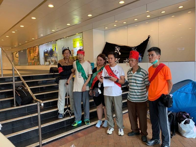 香港「好鄰舍北區教會」3日上午發起無限期絕食,然而近日基於安全和絕食者的身體考量,已於今(22)日中午停止絕食。(圖擷取自「好鄰舍北區教會」Facebook)