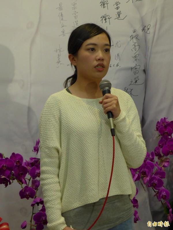 民進黨立法委員呂孫綾。(記者李雅雯攝)