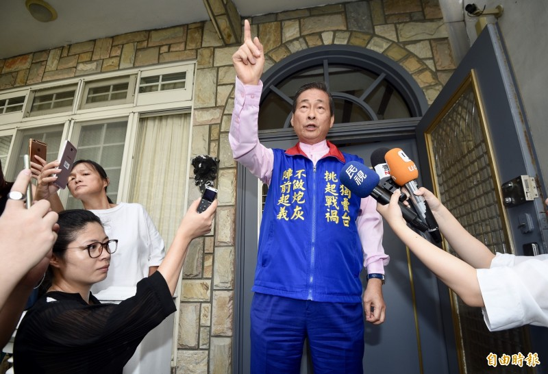 「反獨促統高峰論壇」昨(20日)在台北召開,張安樂在致詞時表示「統一才能享有永久和平、安定、繁榮以及未來尊嚴的生活」。圖為張安樂。(資料照)