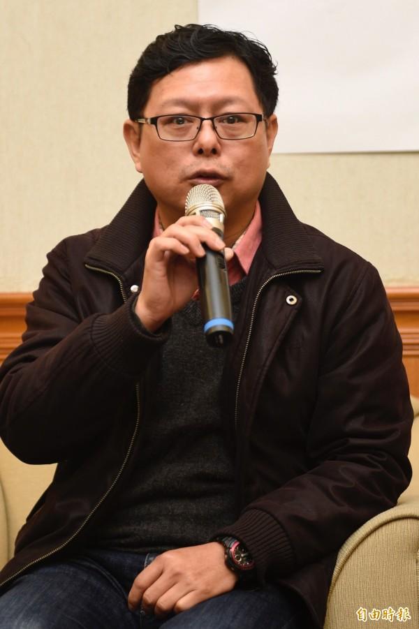 台灣勞工陣線秘書長孫友聯表示,針對年總工時依然過長、基本工資立法的部分,希望勞動部也能盡快解決。(資料照,記者叢昌瑾攝)