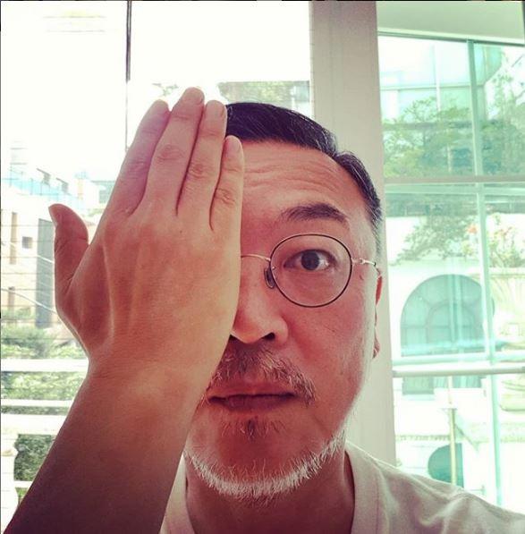 韓國電影《屍速列車》的資深演員金義聖,多次表態支持港人「反送中」運動。(圖擷取自IG_lunatheboy)