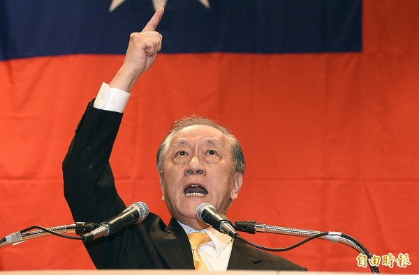 郁慕明認為蔡英文若當選,將比陳水扁更加危險。(資料照,記者陳志曲攝)