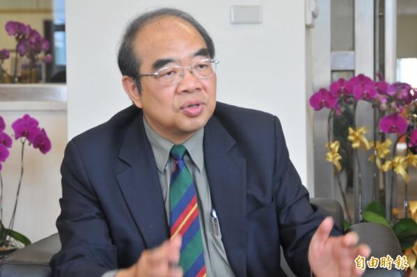 新教長吳茂昆發書面聲明澄清,當年是中研院和中國科學院的學術合作交流,他赴中短期交流,均事先申請也符合規定。(資料照)