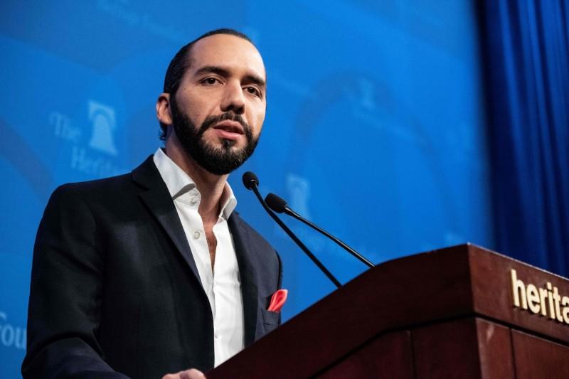 薩爾瓦多總統當選人布格磊。(法新社)
