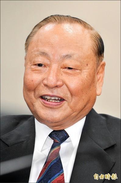 曾任國防部副部長的退役上將、國民黨中央評議委員會主席團主席王文燮。(資料照)