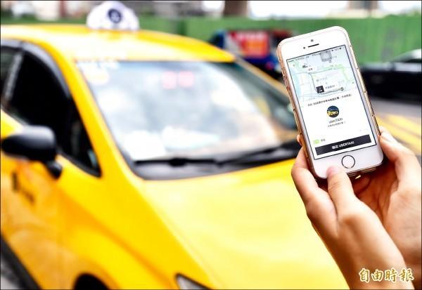 今傳出本土叫車業者「hello Taxi」倒閉的消息。示意圖。(資料照)