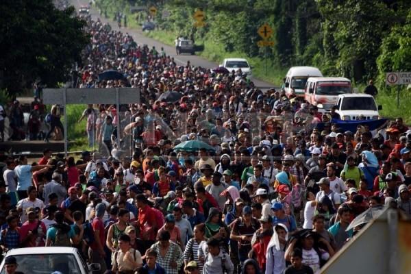 美國當局稱非法移民人數已達到「危機」水準。(資料圖 法新社)