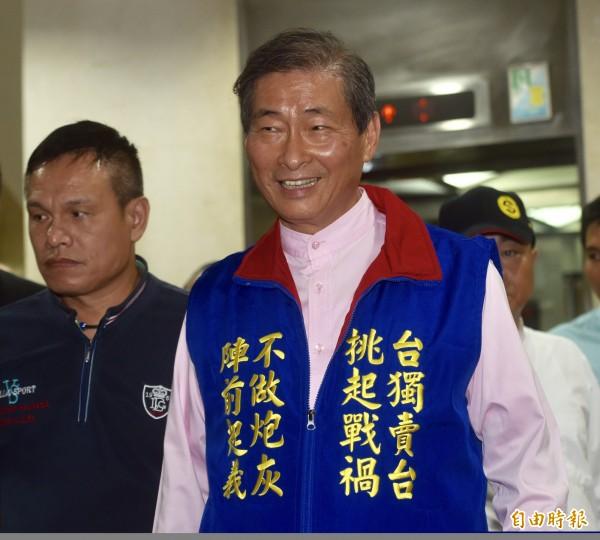 統促黨花蓮文宣組長黃曉恩今早在花蓮網路社群網站,以「貪污無罪、為善有罪」為主題幫張安樂澄清。(資料照)