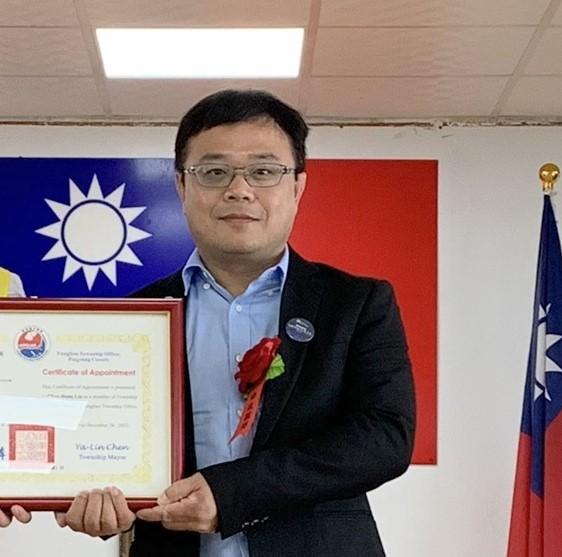 枋寮鄉政顧問李孟居(見圖)遭中國拘捕。(記者陳彥廷翻攝)