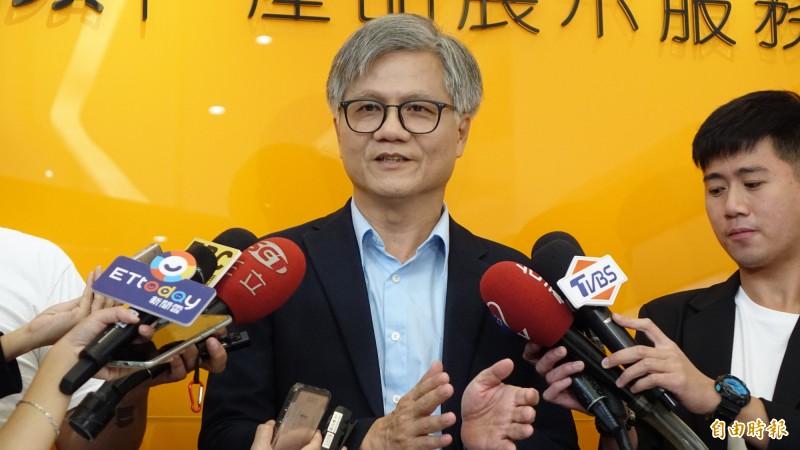去年曾參選台北市長的吳萼洋,對本次的立委補選發表看法。(資料照)