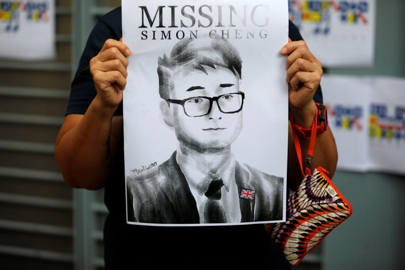 鄭文傑遭中國當局行政拘留15日後,目前已獲釋回到香港。(路透)