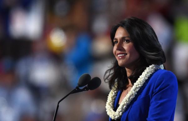 美國夏威夷民主黨籍眾議員加巴德。(法新社)