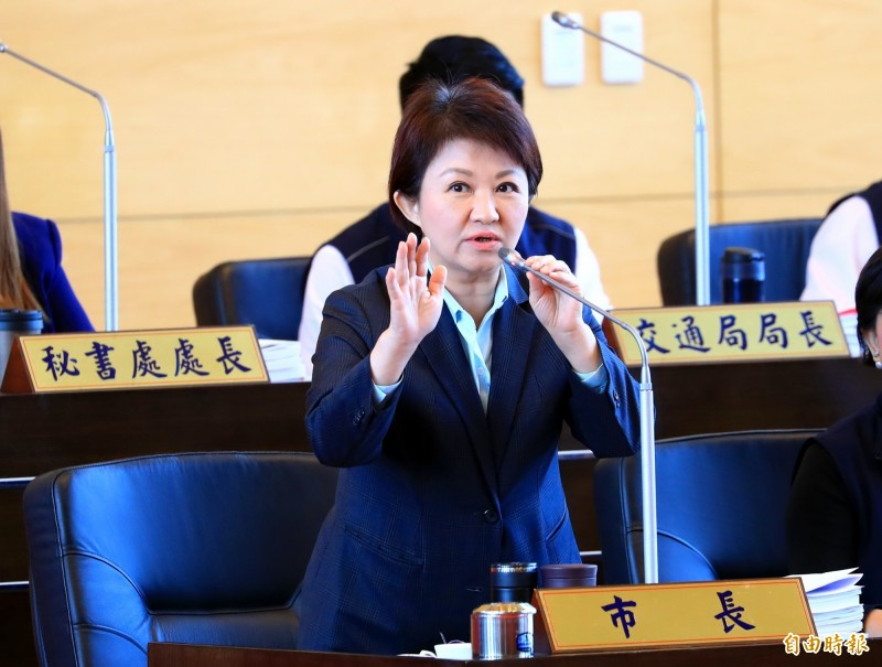 台中市長盧秀燕上任後,推行的花博新政策風波不斷。(資料照)