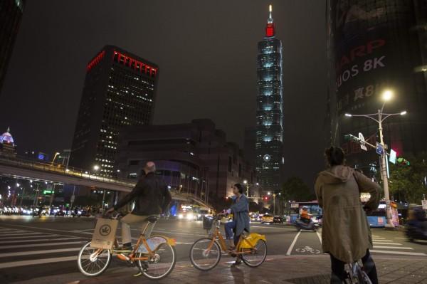 台北市奪下《環旅世界》「亞洲最佳悠閒旅遊目的地」大獎。(法新社)