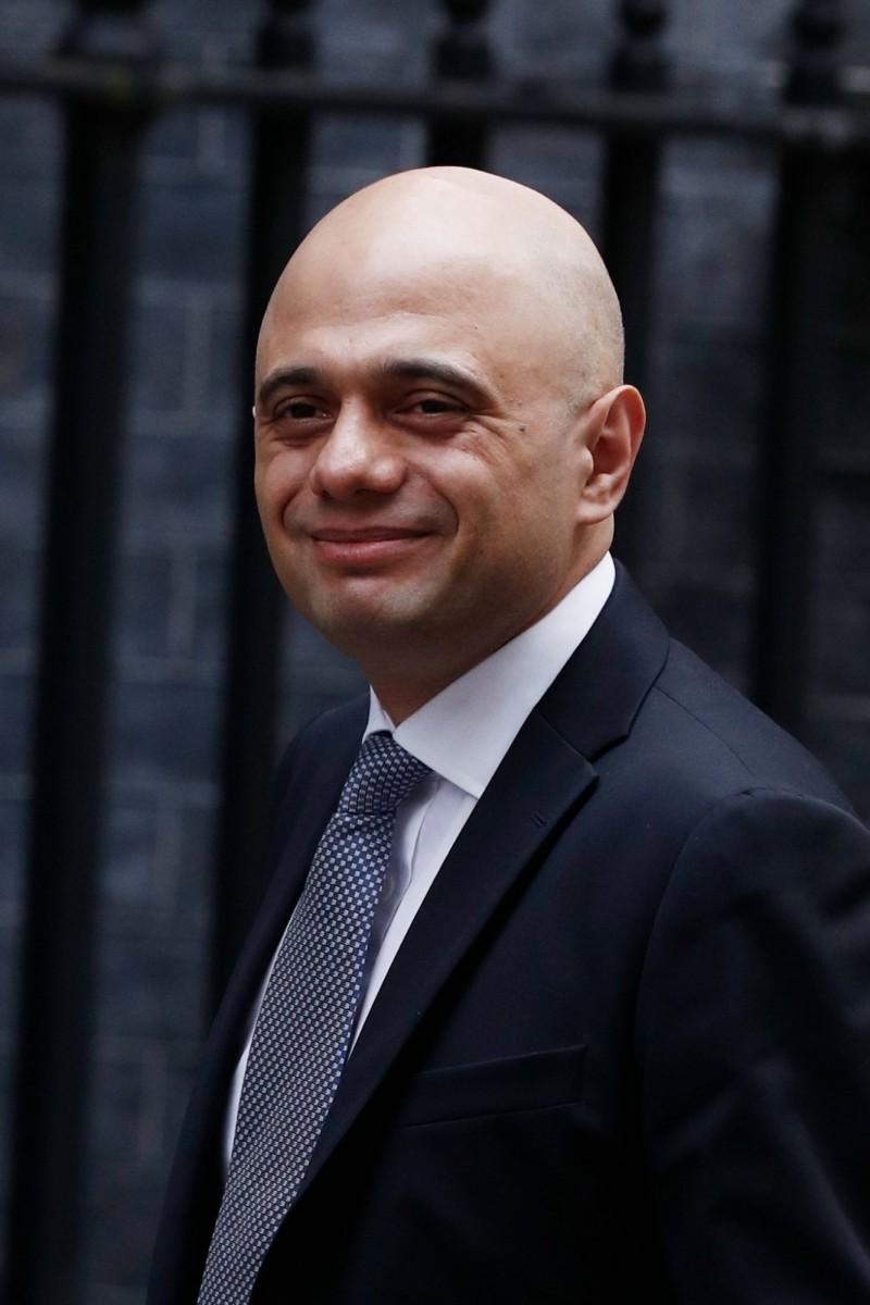 英內政大臣賈偉德(Sajid Javid)今日表示,已有超過75萬歐盟公民提出申請定居英國。(法新社)