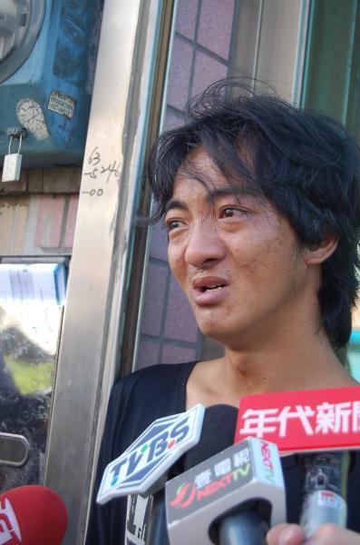 張元豪指父親溺斃卻未留下遺書,很不尋常。(記者林欣漢攝)