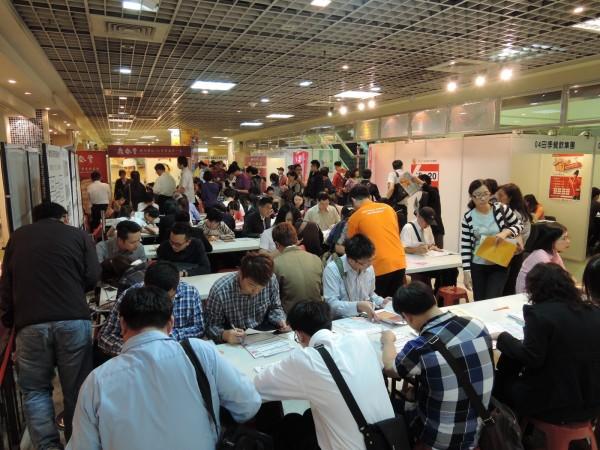 台北市就業服務處今起至週五舉辦徵才活動。(資料照)