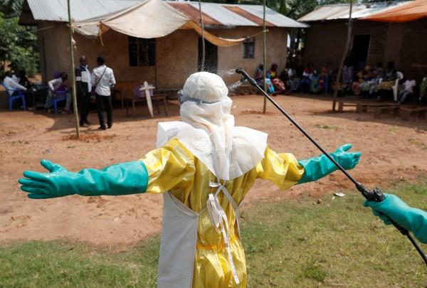 剛果伊波拉疫情惡化,目前有多達319人死亡。(路透)
