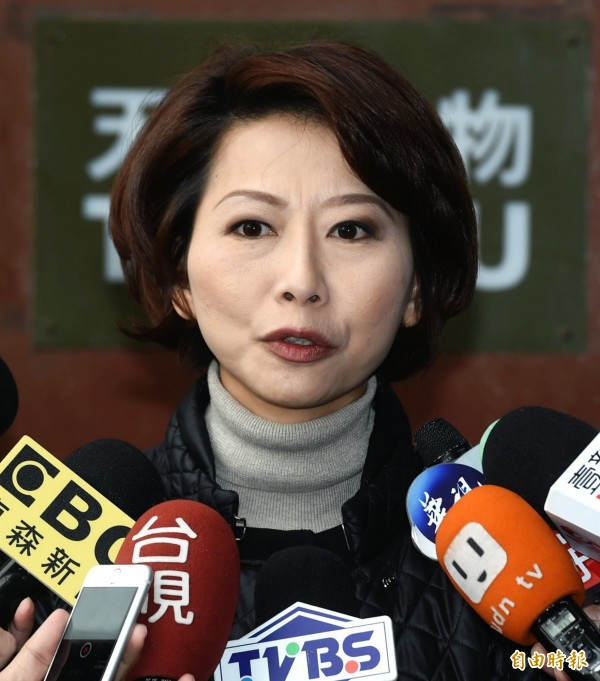 陳亭妃今受訪表示,明天會議將討論正、副院長人選、優先法案以及委員會分配。 (記者方賓照攝)