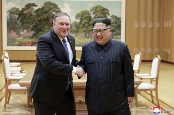 龐皮歐透露,金正恩向他承諾將棄核。(美聯社)