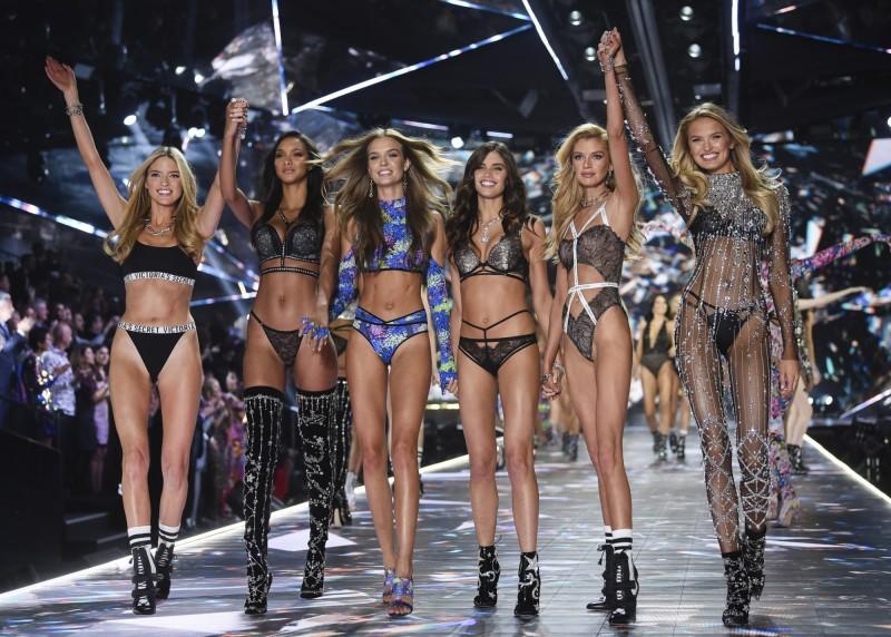 「維多利亞的秘密」(Victoria's Secret)品牌時尚秀驚傳將終止電視聯播。(美聯社)