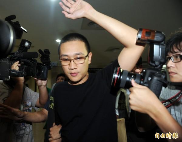HTC宏達電「內鬼案」主角簡志霖,涉洗錢被起訴。(記者羅沛德攝)