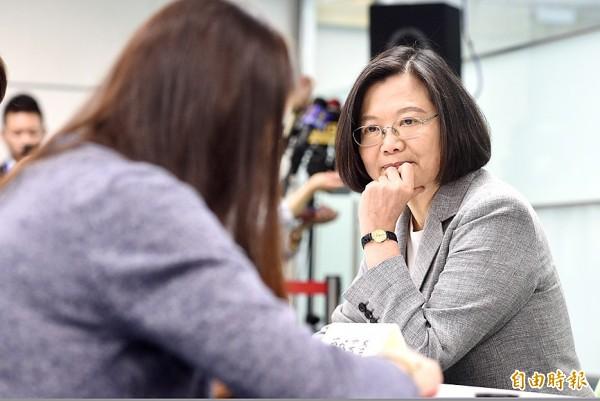 《TAIPEI TIMES》 Tsai enters DPP primary race