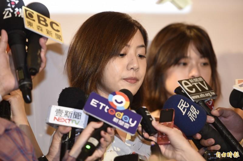 台北市政府副發言人「學姐」黃瀞瑩遭週刊爆料出新戀情,不過現傳出學姐不甘戀情被媒體汙名化,將會考慮提告。(資料照)