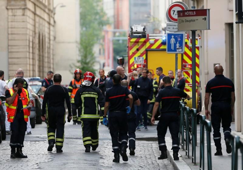 法國里昂在當地時間24日下午(台灣時間24日凌晨)發生爆炸事件,至少造成13人受傷。(路透)