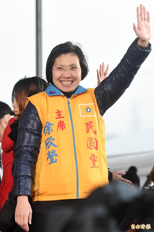 民國黨今日發出聲明,指出經民國黨中常會一致慰留,徐欣瑩首肯留任黨主席。(資料照,記者廖振輝攝)