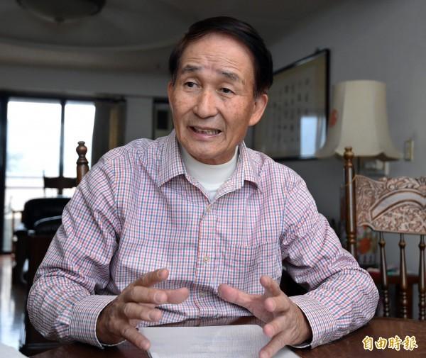 台大獸醫專業學院名譽教授賴秀穗(見圖)指出,倘如明年再度政黨輪替,非洲豬瘟恐將感染台灣。(資料照)