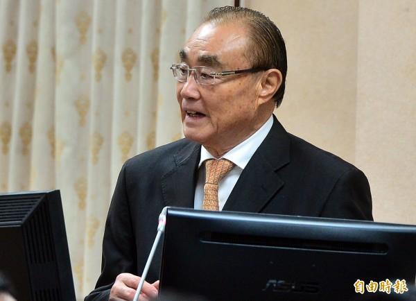 立法院國防委員會,邀請國防部長馮世寬業務報告並備詢。(記者王藝菘攝)