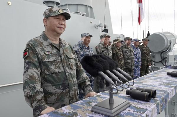 美國五角大廈上週發布報告指出,中國解放軍的軍力,在某些領域已超過世界一流水準。圖為中國國家主席習近平。(美聯社)