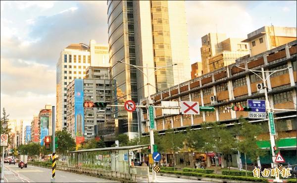 傳出遭重量級黑道份子強拗打折的豪宅就位在台北市大安區。(記者姚岳宏攝)
