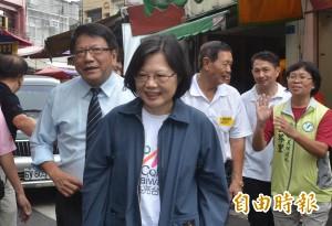 蔡英文堅定支持香港 以和平方式爭取民主