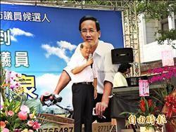 嘉市選情/黃昆輝:國民黨不倒 台灣不會好