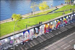 柏林圍牆倒塌25年 8千盞氣球燈紀念
