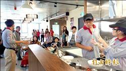 身障就業大樓啟用 餐廳市集進駐