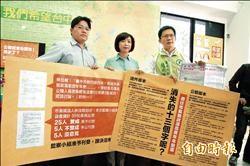 選舉公報政見被刪 林佳龍:傷言論自由