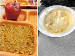 營養午餐難吃 美學童怪第一夫人