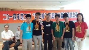 榮三盃大學組再傳捷報 組隊首奪翔安盃冠軍