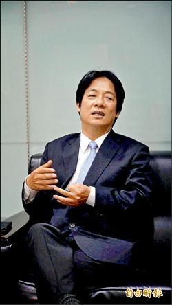 賴清德:陳為廷、林飛帆參選都支持