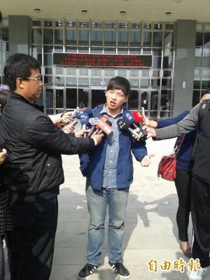民進黨:不會要求陳為廷入黨