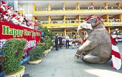 耶誕老人 大象代班