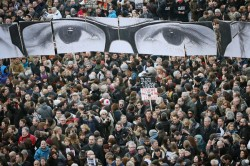 巴黎百萬反恐遊行 44國領袖出席