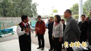 考察台南機場 葉宜津促台南關西直航