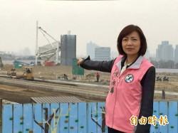 綠議員質疑 前市府欺瞞台灣塔預算