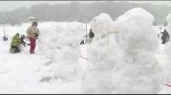 一小時做1585個雪人 日本破金氏世界紀錄