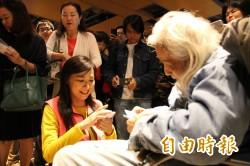 「革命進行式」在台南 史明到場、觀眾相挺